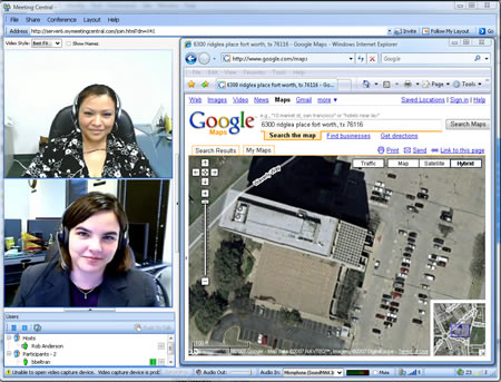 Video Conferencing Screenshot