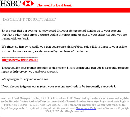 What Is Hsbc Email Address