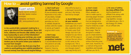 How to avoid getting your website banned