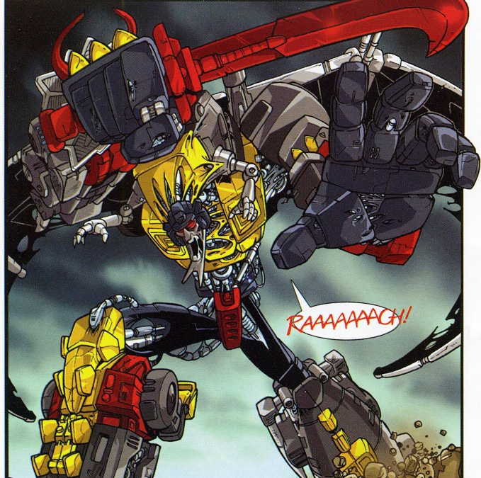 The Beast Within: The Dinobots