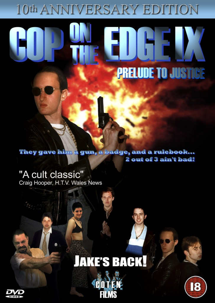 Cop on the Edge IX DVD cover tenth anniversary edition