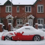 BMW Z3 Stuck in the snow
