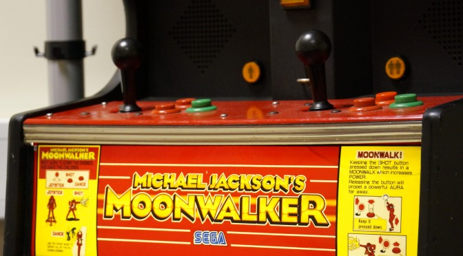 Our retro meeting room with 1980s arcade machine